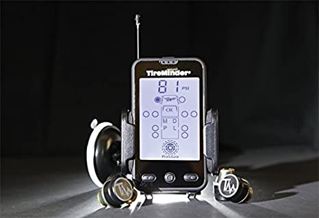 TPMS Motor Coaches and Trailers Minder Research 0154.1687 with 6 Transmitters for RVs TireMinder A1A Tire Pressure Monitoring System MotorHomes 5th Wheels