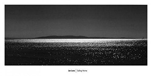 - 1art1 Posters: Jan Lens Poster Art Print - Island by Night (39 x 20 inches)