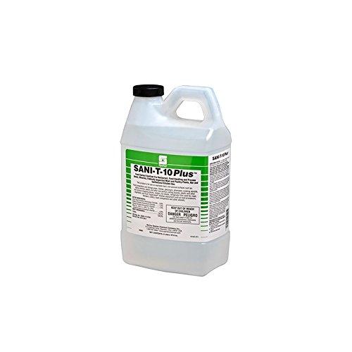 Spartan Clean on the Go Sani-T-10 Plus 22 Sanitizer, 2 liter, 4 Per Case by Spartan (Image #1)