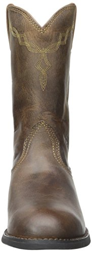 US Work Women's Ariat 7 Distressed B Brown 5 Boot Roper Heritage wZqUqFv