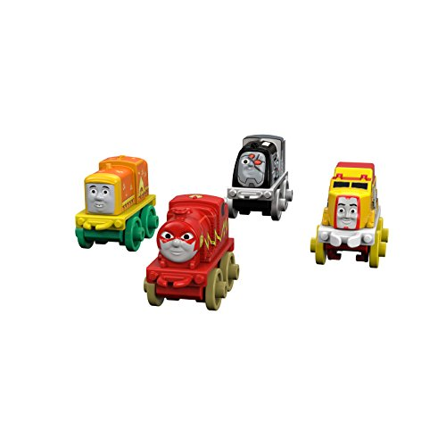 Fisher-Price Thomas & Friends DC Super Friends Character #3 (4 Pack) (Thomas Train Characters)