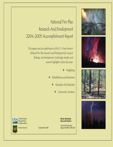 Download National Fire Plan Research And Development 2004-2005 Accomplishment Report pdf epub