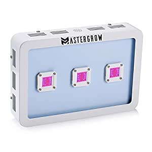 MasterGrow X3 900W Cob Led Grow Light Kit Full Spectrum 410-730nm Cultivation For Indoor Plants Growing and Flowering (3pcsX300w)