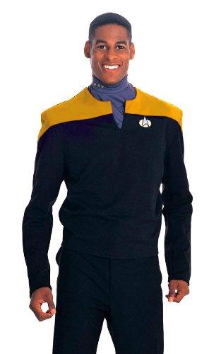 Deep Space Nine Shirt Adult Costume Gold