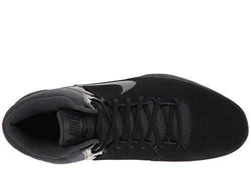 ro VI Nubuck Basketball Shoes (15 D(M) US, Black/Anthracite) ()