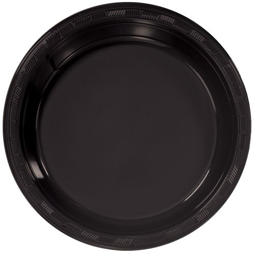 Hanna K. Signature Collection 50 Count Plastic Plate, 10-Inch, -