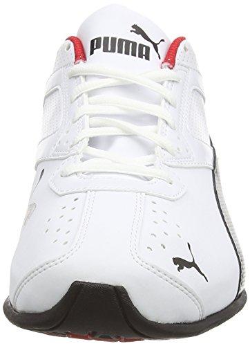 Hombre Tazon Puma Black para Puma Silver White Entrenamiento Zapatillas 6 FM de 0qrdUq4
