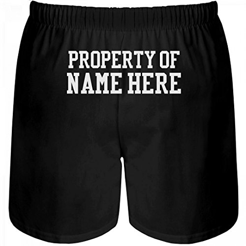 Customized Girl Funny Property Of Gift: Unisex Boxer Shorts