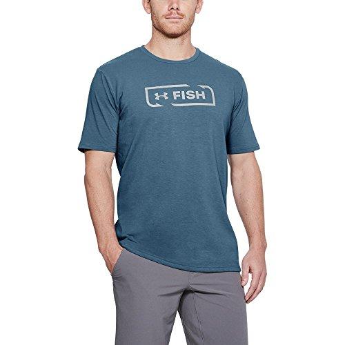 Under Armour Men's Fish Icon T-Shirt, X-Large, Steel Light ()