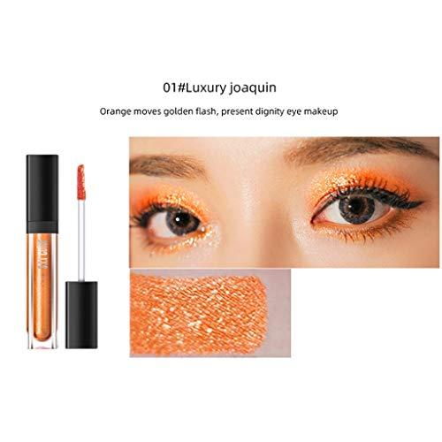 Shiny Gloss Monochrome Pearl Liquid Eye Shadow Cosmetics A