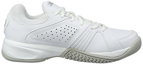 Wilson Rush Swing W White, Zapatillas de Tenis Mujer Blanco (White)