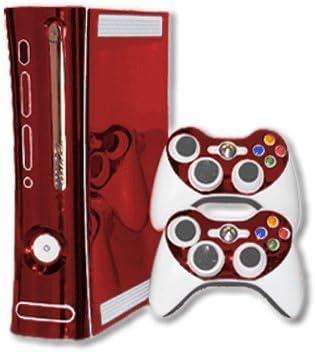 Amazon com: Microsoft Xbox 360 Skin (1st Gen) - NEW - RED