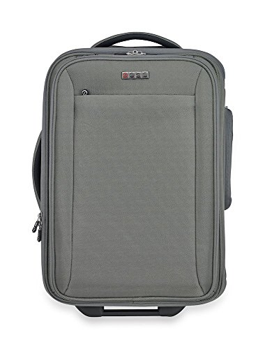 Sparrow II Wheeled Garment Bag (Grey) - TSA FastPass Laptop Storage System to Breeze Through Security Checkpoints - Plus Added Backup Battery Charger to Help You Stay Connected While Traveling