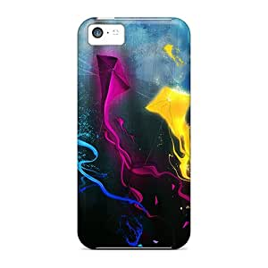High Quality Exceptional Abstract Case For Iphone 5c / Perfect Case