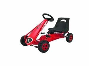Kettler 8853-960 Kettcar Melbourne - Coche de carreras a pedales, color rojo [importado de Alemania]