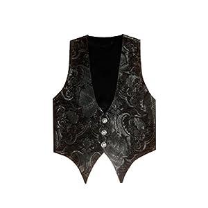 Victorian Vagabond Steampunk Brocade Gothic Men's Vest