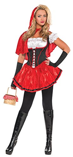 Little Red Riding Hood And Wolf Halloween Costumes (Womens Riding Hood Costume Size Small (2-4))