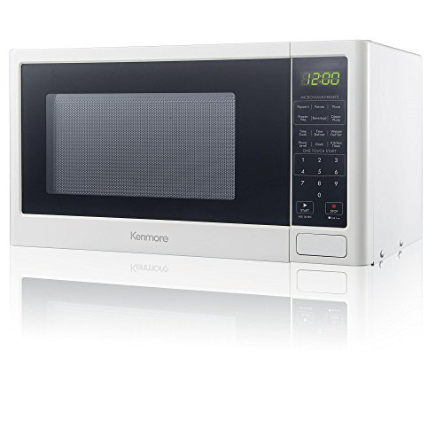 Countertop Microwave Oven Reviews 2017 : Kenmore 0.9 cu. ft. Microwave Oven - White reviews and ratings