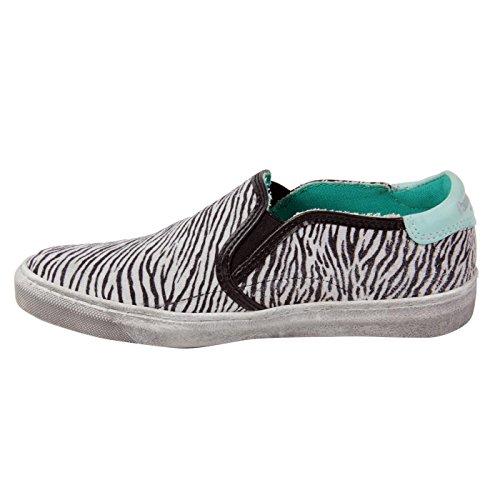 Slipper Schuhe 31 PANTOFOLA Kinder Zebra Größe Leder Mädchen 60 ORO D Black wSnYqXaT