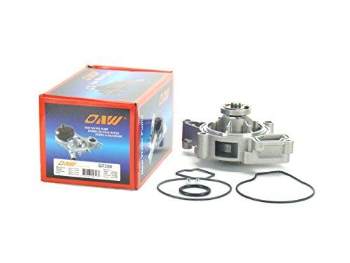 OAW G7350 Engine Water Pump for Chevrolet Buick Pontiac Saturn Saab Oldsmobile GM 2.0L 2.2L 2.4L DOHC 00-15