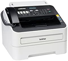 The IntelliFAX-2840 is a laser fax that is ideal for home offices or small offices. It features a 33.6K bps modem, 16MB memory and a 20-page capacity auto document feeder for faxing and copying multiple pages. This compact fax offers up to 27...
