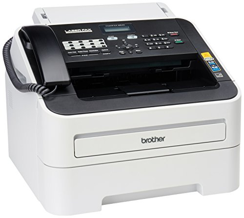 Brother FAX-2840 High Speed Mono Laser Fax Machine, Dark/light gray - FAX2840