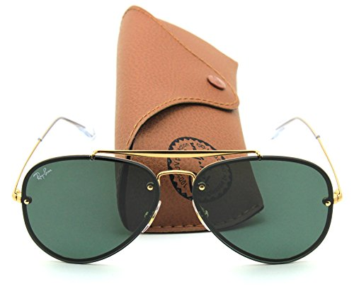 Ray-Ban RB3584N BLAZE AVIATOR Sunglasses 905071, - Ray Aviator Ban Blaze