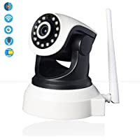 Wireless IP Camera,Sky Castle 960P HD WiFi Home Security Surveillance Dome Camera Pro-Baby/Elder/Pet/Nanny Monitor with IR Night Vision Motion Detection Remote Control Indoor CCTV [Upgraded Version]