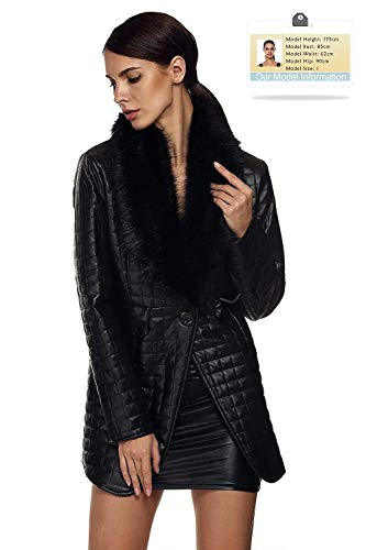 Femme Casual Veste en Jacken Fashion Cuir Synth Confortable wAqan7BT
