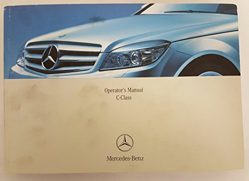 2008 Mercedes C Class Sedan C-Class Owners Manual