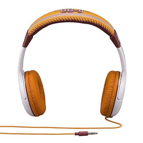 092298925509 - Star Wars The Force Awakens Episode 7 BB 8 Kid Friendly Volume Reduced Youth Stereo Headphones carousel main 2