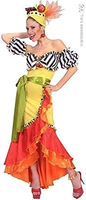 Smiffys - Disfraz de bailarina de samba (talla M): Amazon.es ...