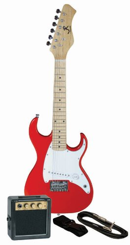 J. Reynolds Kid's Electric Guitar Prelude Pack – Rockin' Red