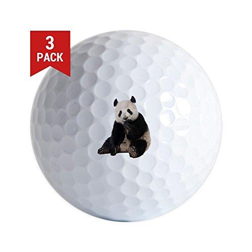- Golf Balls (Set of 3) Panda Bear Youth