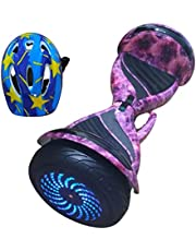 Hoverboard Electric Scooter 10 Inch Wide Wheel With Safety Helmet Model 2021 , 2725617659349