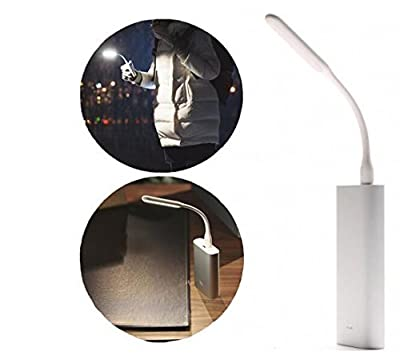 New Xiaomi Flexible USB LED Lamp Portable Tablet Pc USB Gadgets LED Lights for Power Bank Computer Laptop Night Led Lamp (White)