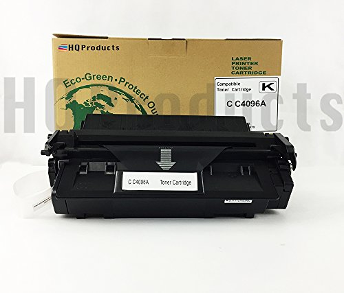 (HQ Products © High Quality HP C4096A Black Toner Cartridge for HP Laserjet 2100M, 2100SE, 2100TN, 2100XI, 2200DN, 2200DSE, 2200DTN Series Printers. Remanufactured in California, USA)