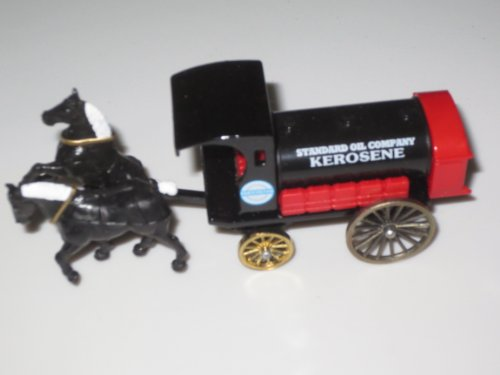 "Standard Oil Company Kerosene Metal Horse Drawn Wagon Replica ... 4"" long"