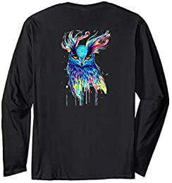 Beautiful Painted Owl T-shirt