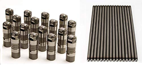 (Elgin Industries Roller Lifters & Push Rods compatible with 1994-1997 Ford 351W)
