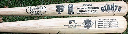 Commemorative 2012 World Series - SF Giants 2012 World Series Champs Louisville Slugger Bat