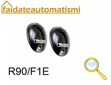 ROGER TECHNOLOGY fotocélulas de Exterior para Montaje a Pared R90/f2es: Amazon.es: Electrónica