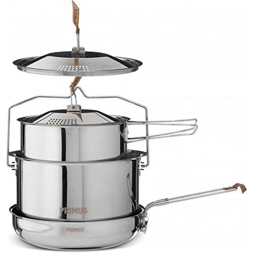 *Primus CampFire Cookset S/S P-738001 POTS&PANS Large by Primus