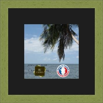Rk Photo Frames Picture Frame With Mat Black For A Image 21x21 Cm Or