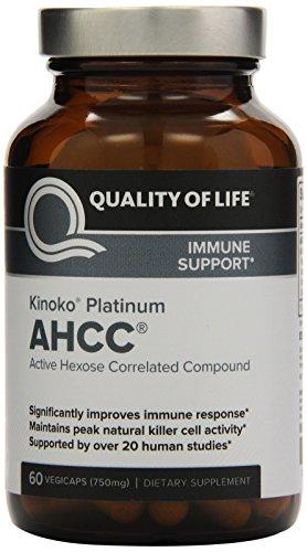 Quality Life Kinoko Platinum AHCC product image