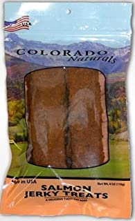 product image for Colorado Naturals Wild Caught Salmon Jerky Dog Treats. Made in USA - 4oz