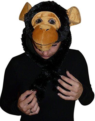 Fantasy World Men's F76 Monkey Hat One Size -