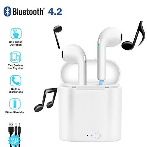 PETHREE Wireless Headphones, Bluetooth 4.2 Cordless Headset