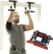 CrossGrips - Pull Up Bar Handles, Doorframe Pull-up Bar, Home and Travel Doorway Gym
