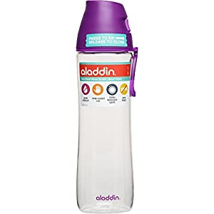 Aladdin 1-Hand Water Bottle, 24 oz, Berry
